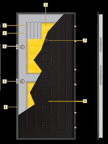 Конструкция на крилото - модел Т-712