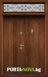 Еднокрила входна врата Т-110, цвят Златен дъб