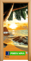 Print G 13-14 Beach sunset A