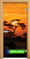 Print G 13-17 African Sunset A
