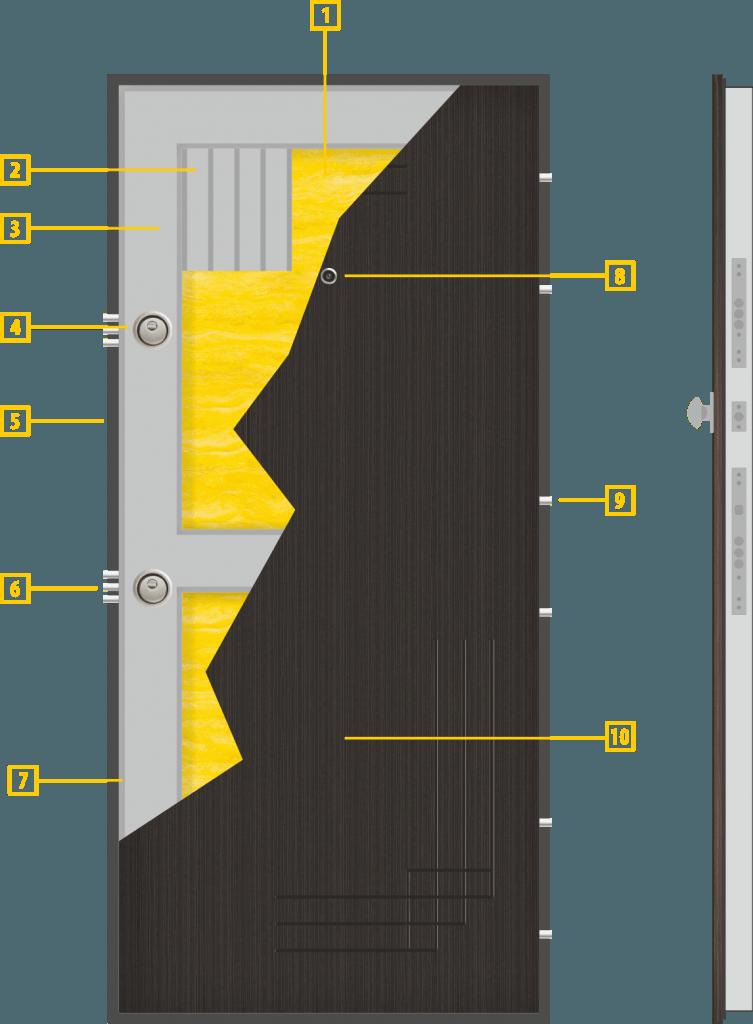 Конструкция на крилото - модел Т-111