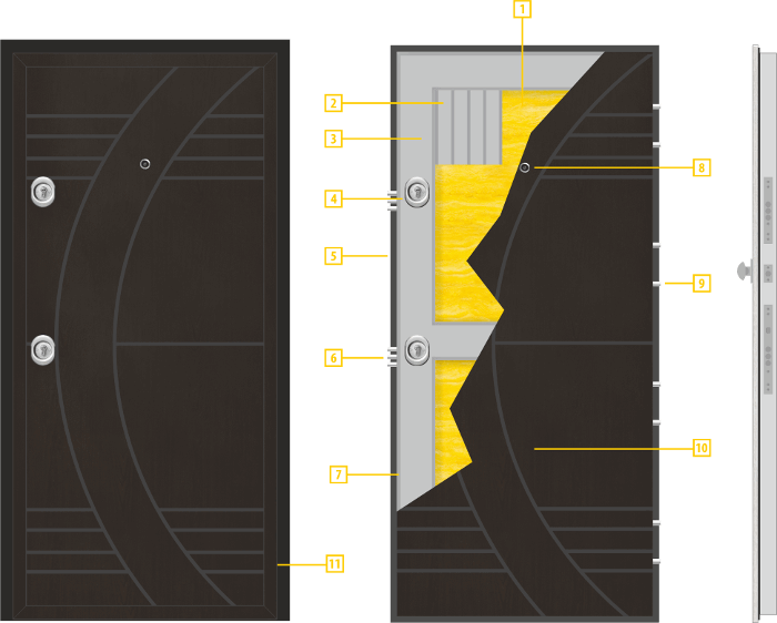 Конструкция на крилото - модел Т-909
